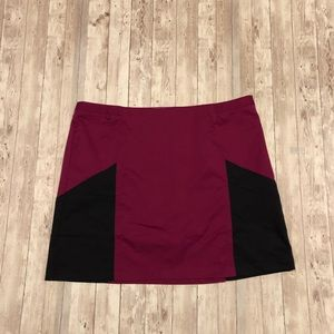 Adidas ClimaCool athletic skirt with shorts NWT